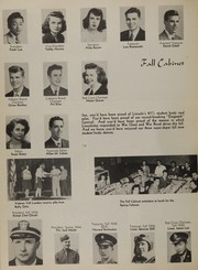 Page 16, 1945 Edition, Lincoln High School - Cardinal Yearbook (Portland, OR) online yearbook collection