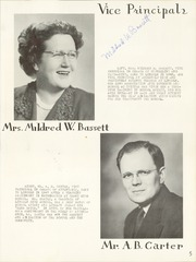 Page 9, 1951 Edition, Lincoln High School - Cardinal Yearbook (Portland, OR) online yearbook collection