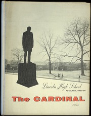 Page 1, 1956 Edition, Lincoln High School - Cardinal Yearbook (Portland, OR) online yearbook collection
