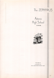 Page 7, 1935 Edition, Astoria High School - Zephyrus Yearbook (Astoria, OR) online yearbook collection