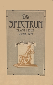 Page 1, 1919 Edition, Jefferson High School - Spectrum Yearbook (Portland, OR) online yearbook collection