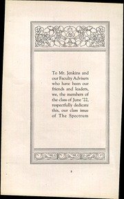 Page 12, 1922 Edition, Jefferson High School - Spectrum Yearbook (Portland, OR) online yearbook collection
