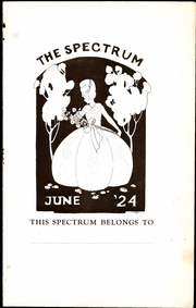 Page 3, 1924 Edition, Jefferson High School - Spectrum Yearbook (Portland, OR) online yearbook collection