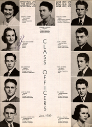 Page 15, 1940 Edition, Jefferson High School - Spectrum Yearbook (Portland, OR) online yearbook collection