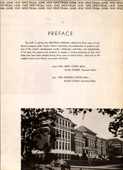 Page 7, 1940 Edition, Jefferson High School - Spectrum Yearbook (Portland, OR) online yearbook collection