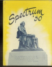 1950 Edition, Jefferson High School - Spectrum Yearbook (Portland, OR)