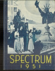1951 Edition, Jefferson High School - Spectrum Yearbook (Portland, OR)