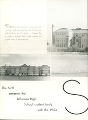 Page 6, 1953 Edition, Jefferson High School - Spectrum Yearbook (Portland, OR) online yearbook collection