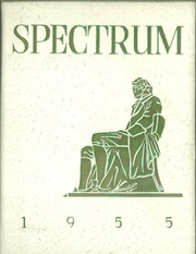 1955 Edition, Jefferson High School - Spectrum Yearbook (Portland, OR)