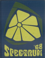 1968 Edition, Jefferson High School - Spectrum Yearbook (Portland, OR)
