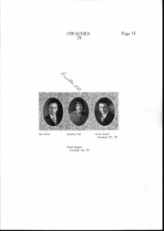 Page 14, 1929 Edition, Ontario High School - Owaches Yearbook (Ontario, OR) online yearbook collection