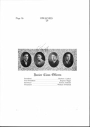 Page 17, 1929 Edition, Ontario High School - Owaches Yearbook (Ontario, OR) online yearbook collection