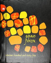 1965 Edition, Parkrose High School - Equus Ferox Yearbook (Portland, OR)