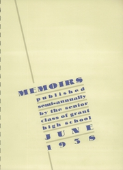 Page 5, 1938 Edition, Grant High School - Memoirs Yearbook (Portland, OR) online yearbook collection
