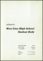 Page 7, 1941 Edition, West Linn High School - Green and Gold Yearbook (West Linn, OR) online yearbook collection