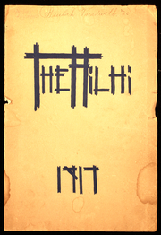 1917 Edition, Hillsboro High School - Hilhi Yearbook (Hillsboro, OR)