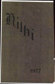 1927 Edition, Hillsboro High School - Hilhi Yearbook (Hillsboro, OR)