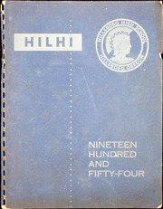 1954 Edition, Hillsboro High School - Hilhi Yearbook (Hillsboro, OR)