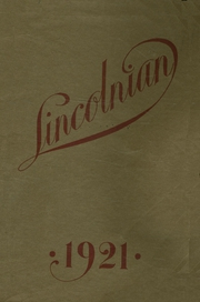 1921 Edition, McMinnville High School - Lincolnian Yearbook (McMinnville, OR)