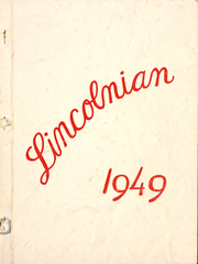 1949 Edition, McMinnville High School - Lincolnian Yearbook (McMinnville, OR)