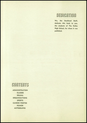 Page 7, 1940 Edition, The Dalles Wahtonka High School - Steelhead Yearbook (The Dalles, OR) online yearbook collection