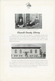 Page 18, 1939 Edition, Klamath Union High School - El Rodeo Yearbook (Klamath Falls, OR) online yearbook collection