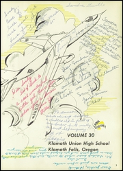 Page 7, 1957 Edition, Klamath Union High School - El Rodeo Yearbook (Klamath Falls, OR) online yearbook collection