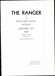 Page 5, 1937 Edition, Roosevelt High School - Ranger Yearbook (Portland, OR) online yearbook collection