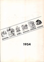 Page 7, 1954 Edition, Roosevelt High School - Ranger Yearbook (Portland, OR) online yearbook collection