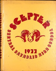 1977 Edition, Central Catholic High School - Scepter Yearbook (Portland, OR)