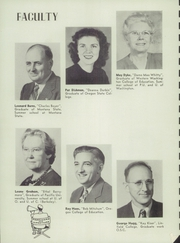 Page 12, 1947 Edition, Forest Grove Union High School - Optimist Yearbook (Forest Grove, OR) online yearbook collection