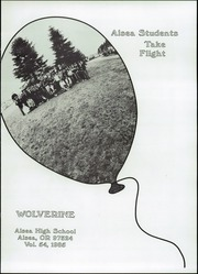 Page 5, 1985 Edition, Alsea High School - Wolverine Yearbook (Alsea, OR) online yearbook collection