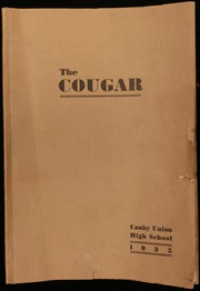 1935 Edition, Canby High School - Cougar Yearbook (Canby, OR)