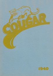 1940 Edition, Canby High School - Cougar Yearbook (Canby, OR)