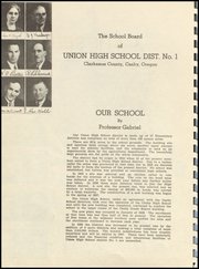 Page 8, 1940 Edition, Canby High School - Cougar Yearbook (Canby, OR) online yearbook collection