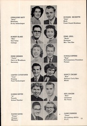 Page 21, 1951 Edition, Canby High School - Cougar Yearbook (Canby, OR) online yearbook collection