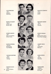 Page 22, 1951 Edition, Canby High School - Cougar Yearbook (Canby, OR) online yearbook collection