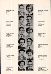 Page 23, 1951 Edition, Canby High School - Cougar Yearbook (Canby, OR) online yearbook collection
