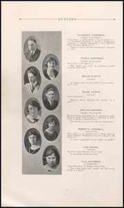 Page 10, 1923 Edition, Tillamook High School - Kilchis Yearbook (Tillamook, OR) online yearbook collection