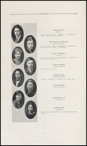 Page 10, 1924 Edition, Tillamook High School - Kilchis Yearbook (Tillamook, OR) online yearbook collection