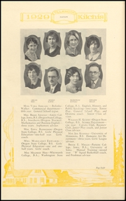 Page 16, 1929 Edition, Tillamook High School - Kilchis Yearbook (Tillamook, OR) online yearbook collection