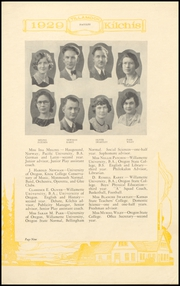 Page 17, 1929 Edition, Tillamook High School - Kilchis Yearbook (Tillamook, OR) online yearbook collection