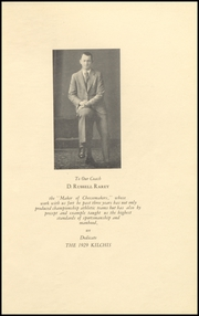 Page 9, 1929 Edition, Tillamook High School - Kilchis Yearbook (Tillamook, OR) online yearbook collection