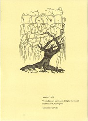 1974 Edition, Wilson High School - Troyan Yearbook (Portland, OR)