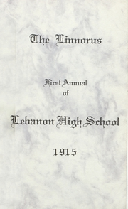 Lebanon Union High School - Warrior Yearbook (Lebanon, OR) online yearbook collection, 1915 Edition, Page 1