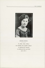 Page 6, 1925 Edition, Lebanon Union High School - Warrior Yearbook (Lebanon, OR) online yearbook collection