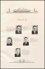 Page 17, 1940 Edition, Lebanon Union High School - Warrior Yearbook (Lebanon, OR) online yearbook collection