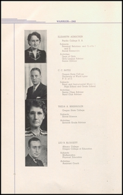 Page 12, 1943 Edition, Lebanon Union High School - Warrior Yearbook (Lebanon, OR) online yearbook collection