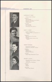 Page 16, 1943 Edition, Lebanon Union High School - Warrior Yearbook (Lebanon, OR) online yearbook collection