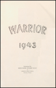 Page 5, 1943 Edition, Lebanon Union High School - Warrior Yearbook (Lebanon, OR) online yearbook collection